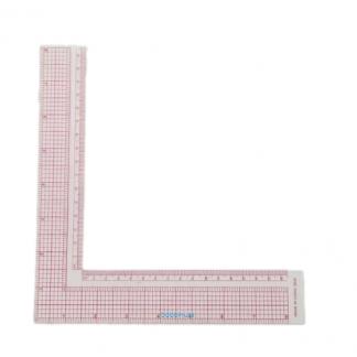 Ruler L Square 8X8 Inch Metric Design Craft Art Ruler 5808