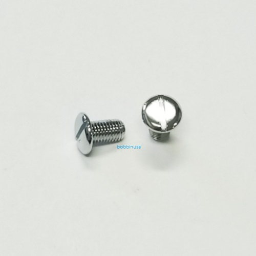 Needle Throat Plate Screw 2pcs Genuine Pegasus Overlock Machine M732 M752