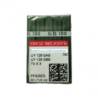 Coverstitch Needle UY128 #9 1 Pack Groz-Beckert