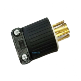 Cooper Plug Male 4 Prong 3 wire 220v E2466-N