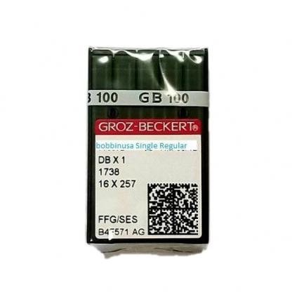 1 Pack Single Needle #12 16x257 Ball Point Groz-Beckert