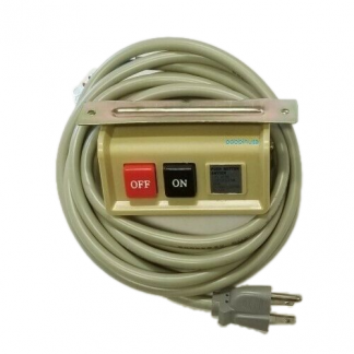 Switch Box & Wire On & Off 110V Plug Heavy Duty Fit