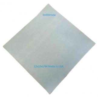 Nonstick Sheet 12x12x1/64 Adhesive Back Tef8
