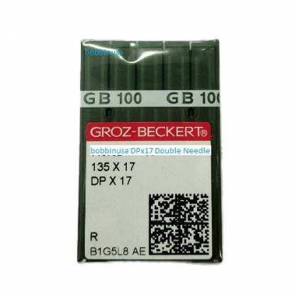 Double Needle # 21 Sewing DPx17 135x17 Groz-Beckert