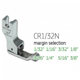 Presser Foot Compensating 1/16 Right Narrow Ever Peak