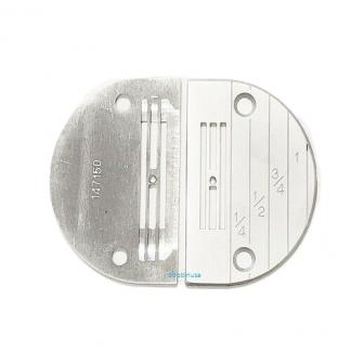 Needle Plate Medium Needle Hole 2x Single Needle