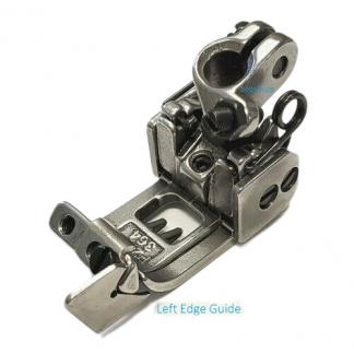 Presser Foot 3 Hole Left/Right Edge 2Pcs Guide Coverstitch