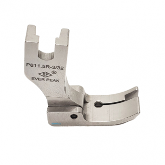 Edge Guide Presser Foot 3/32 R Single Needle Ever Peak