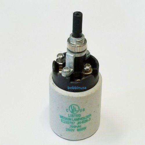 Light Socket Ceramic Rotary Knob Switch Fits Gooseneck ...