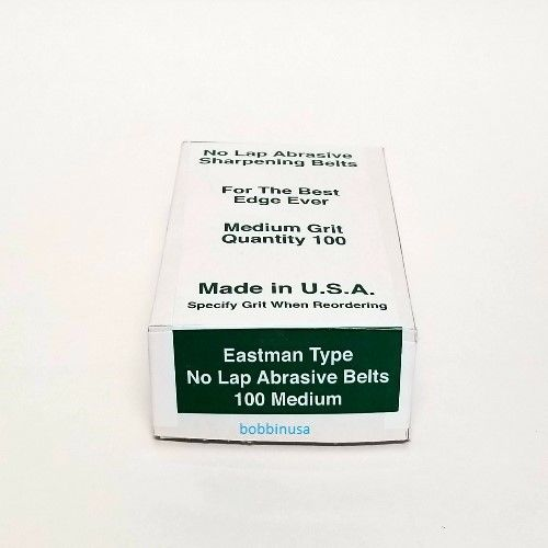 100 Pack Sharpening Bands For Eastman Cutting Machines #181C2-5 Fine Grit